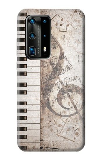 Printed Music Note Huawei P40 Pro+ Case