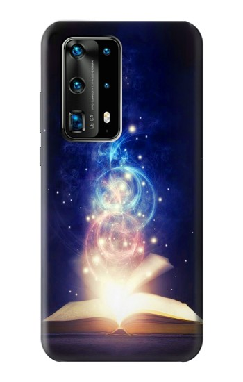 Printed Magic Spell Book Huawei P40 Pro+ Case