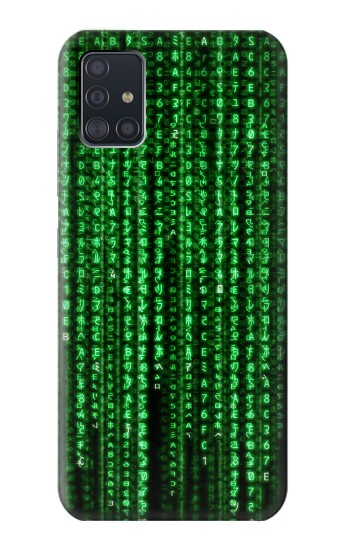 Printed Matrix Samsung Galaxy A51 5G Case