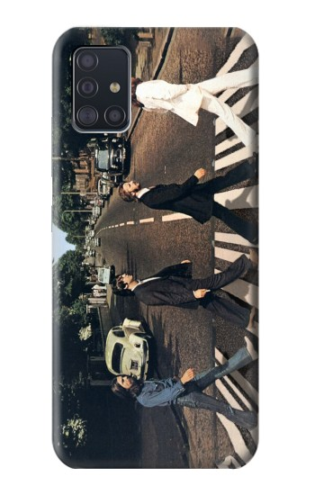 Printed The Beatles Abbey Road Samsung Galaxy A51 5G Case