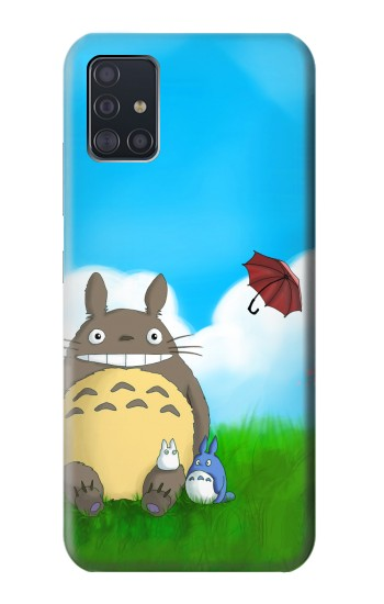 Printed My Neighbor Totoro Samsung Galaxy A51 5G Case