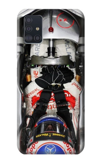 Printed Formula One F1 Cockpit Samsung Galaxy A51 5G Case