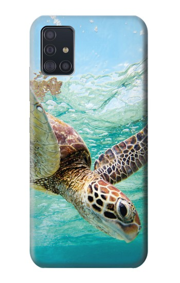 Printed Ocean Sea Turtle Samsung Galaxy A51 5G Case
