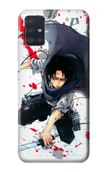 Printed Attack on Titan Rivaille Levi Samsung Galaxy A51 5G Case