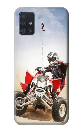 Printed Atv Quad Racing Motocross Samsung Galaxy A51 5G Case