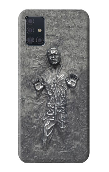 Printed Han Solo in Carbonite Samsung Galaxy A51 5G Case
