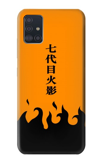 Printed Naruto 7th Hokage Cloak Orange Samsung Galaxy A51 5G Case