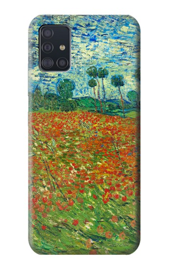 Printed Field Of Poppies Vincent Van Gogh Samsung Galaxy A51 5G Case