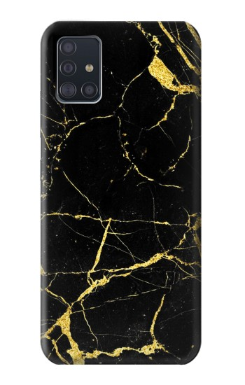 Printed Gold Marble Graphic Printed Samsung Galaxy A51 5G Case