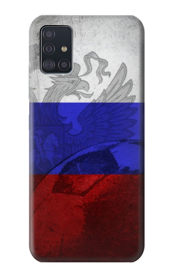 Printed Russia Football Flag Samsung Galaxy A51 5G Case