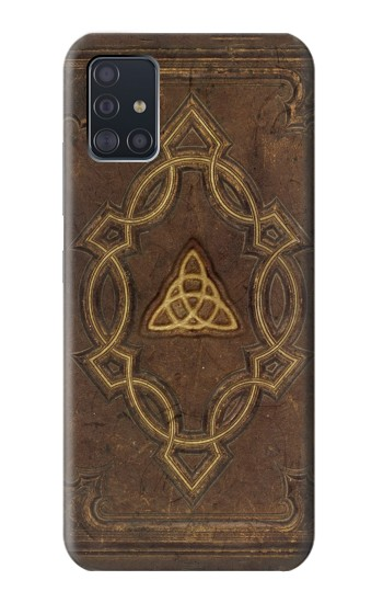 Printed Spell Book Cover Samsung Galaxy A51 5G Case