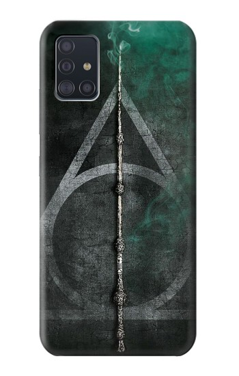 Printed Harry Potter Magic Wand Samsung Galaxy A51 5G Case