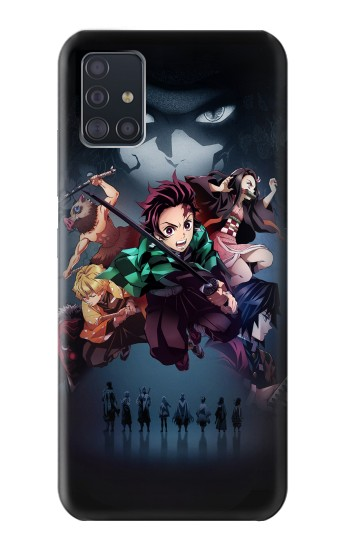 Printed Demon Slayer Kimetsu no Yaiba Samsung Galaxy A51 5G Case