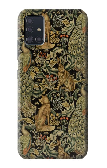 Printed William Morris Forest Velvet Samsung Galaxy A51 5G Case
