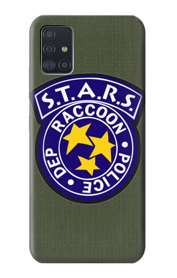 Printed Resident Evil Star Badge Chris Outfit Samsung Galaxy A51 5G Case