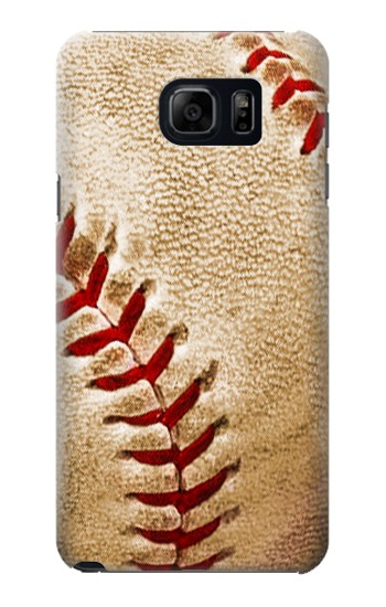 Printed Baseball Samsung Galaxy S6 edge plus Case