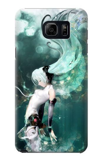 Printed Hatsune Miku Aqua Samsung Galaxy S6 edge plus Case