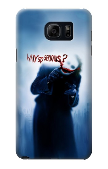 Printed Batman Joker Why So Serious Samsung Galaxy S6 edge plus Case