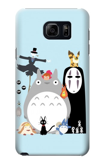Printed Totoro Mononoke Samsung Galaxy S6 edge plus Case