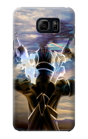 Printed Sword Art Online Kirito Samsung Galaxy S6 edge plus Case