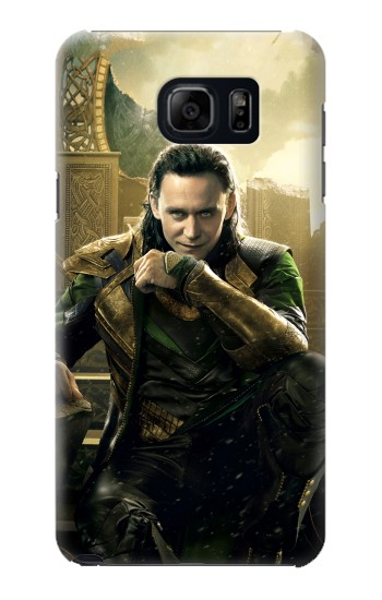 Printed Loki Asgard Thor Samsung Galaxy S6 edge plus Case