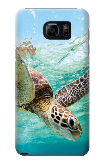 Printed Ocean Sea Turtle Samsung Galaxy S6 edge plus Case