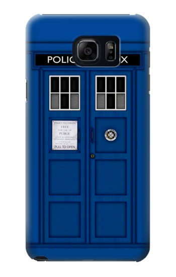 Printed Doctor Who Tardis Samsung Galaxy S6 edge plus Case