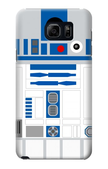 Printed R2D2 Minimalist Samsung Galaxy S6 edge plus Case
