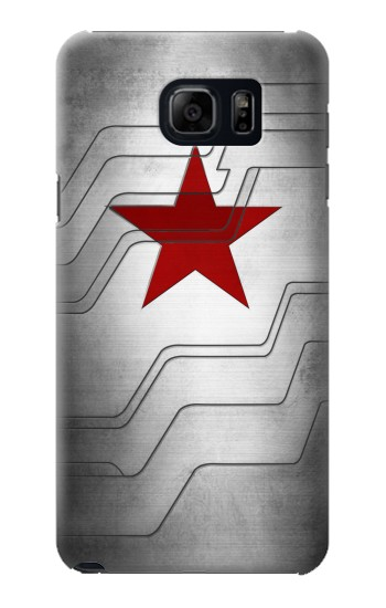 Printed Winter Soldier Bucky Arm Texture Samsung Galaxy S6 edge plus Case