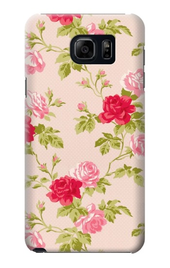 Printed Pretty Rose Cottage Flora Samsung Galaxy S6 edge plus Case