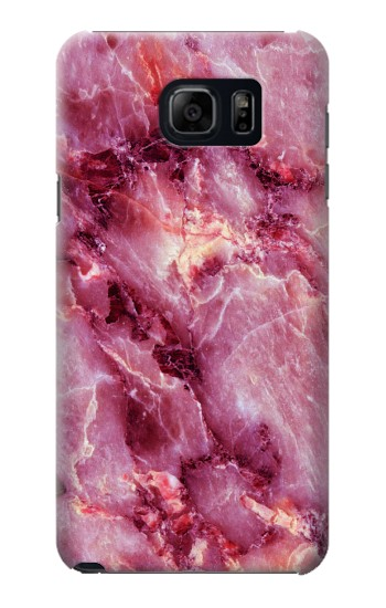 Printed Pink Marble Texture Samsung Galaxy S6 edge plus Case