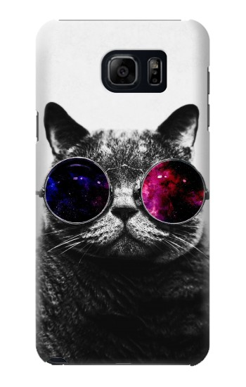 Printed Cool Cat Glasses Samsung Galaxy S6 edge plus Case