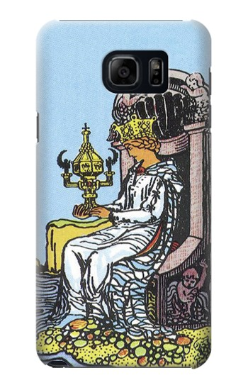 Printed Tarot Card Queen of Cups Samsung Galaxy S6 edge plus Case
