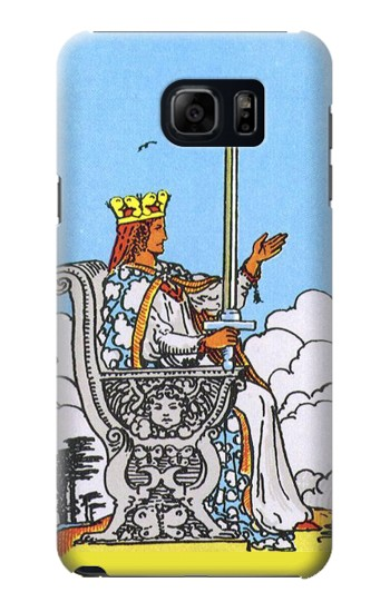 Printed Tarot Card Queen of Swords Samsung Galaxy S6 edge plus Case