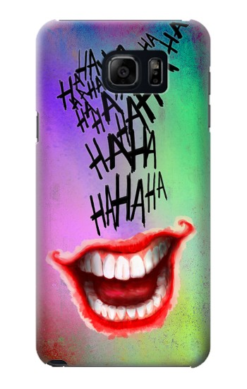 Printed Joker Hahaha Tattoo Samsung Galaxy S6 edge plus Case