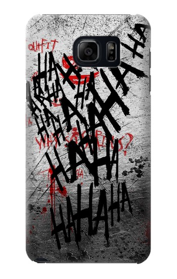 Printed Joker Hahaha Blood Splash Samsung Galaxy S6 edge plus Case