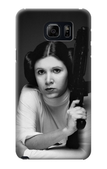 Printed Princess Leia Carrie Fisher Samsung Galaxy S6 edge plus Case