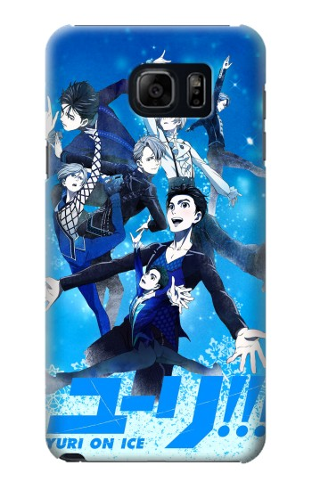 Printed Yuri On Ice Samsung Galaxy S6 edge plus Case