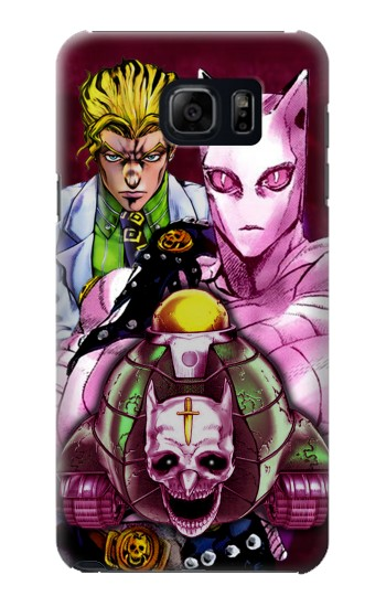 Printed Jojo Bizarre Adventure Kira Yoshikage Killer Queen Samsung Galaxy S6 edge plus Case