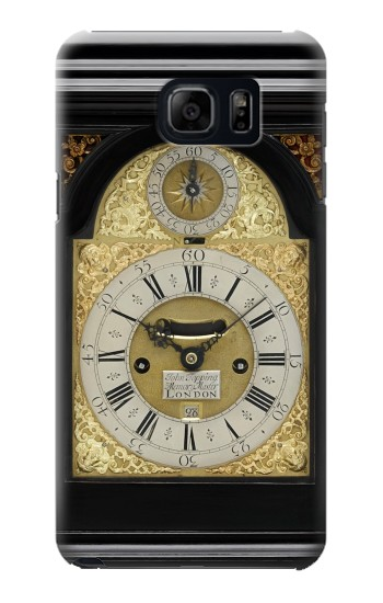 Printed Antique Bracket Clock Samsung Galaxy S6 edge plus Case