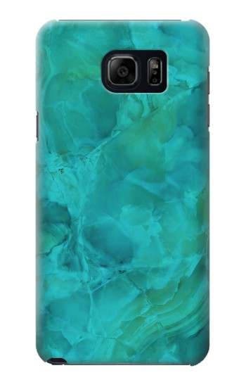 Printed Aqua Marble Stone Samsung Galaxy S6 edge plus Case