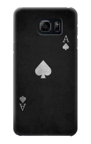 Printed Black Ace of Spade Samsung Galaxy S6 edge plus Case