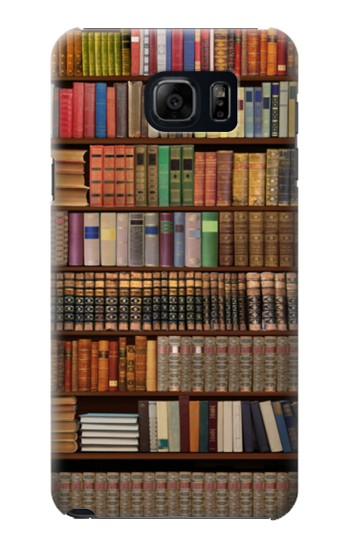 Printed Bookshelf Samsung Galaxy S6 edge plus Case