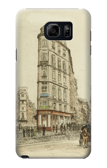 Printed Boulevards of Paris Samsung Galaxy S6 edge plus Case