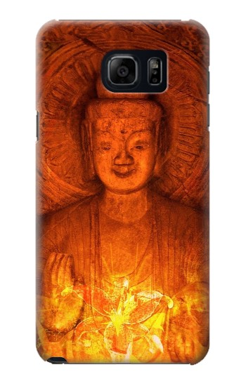 Printed Buddha Spiritual Holy Lights Samsung Galaxy S6 edge plus Case