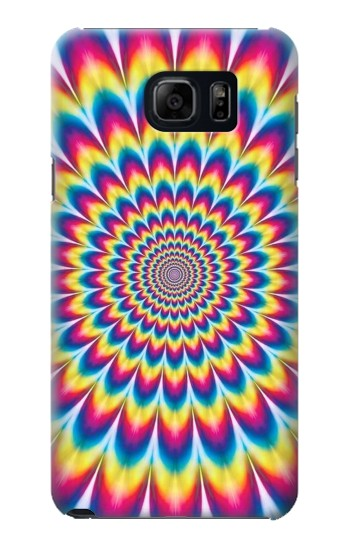 Printed Colorful Psychedelic Samsung Galaxy S6 edge plus Case