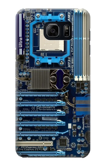 Printed Computer Motherboard Samsung Galaxy S6 edge plus Case