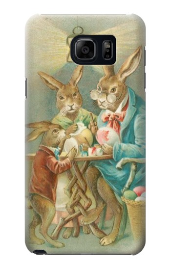 Printed Easter Rabbit Family Samsung Galaxy S6 edge plus Case