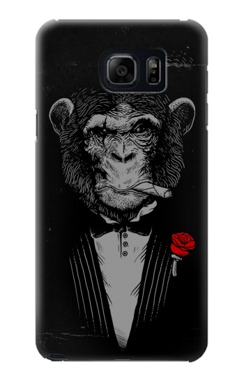 Printed Funny Monkey God Father Samsung Galaxy S6 edge plus Case