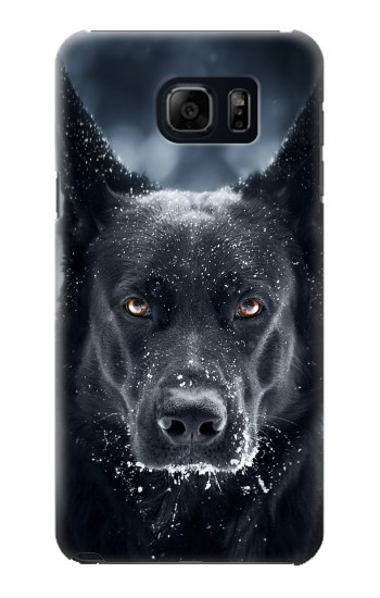 Printed German Shepherd Black Dog Samsung Galaxy S6 edge plus Case